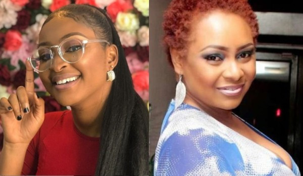You're a jobless retired old mother - Etinosa lashes out at Victoria Inyama lindaikejisblog