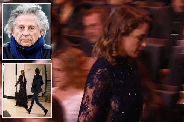Actresses walk out of Cesar Awards as Veteran filmmaker Roman Polanski wins best director despite facing rape accusations (Video)