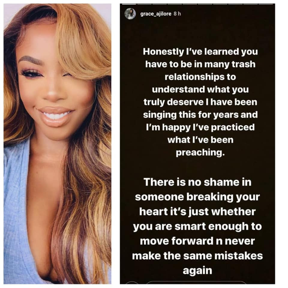 I've dated celebrities and other men I threw in the bin because they never treated me the way I wanted - Vlogger, Grace Ajilore lindaikejisblog 1