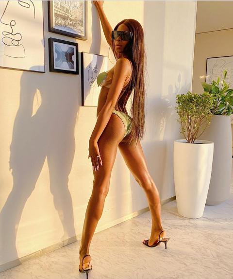 BBNaija's Khloe shares more bikini photos with her backside on display