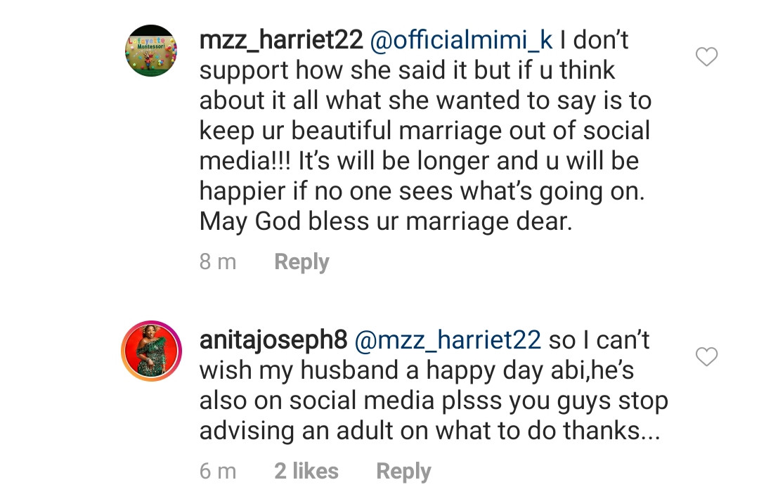 May amadioha enter your love story – Anita Joseph slams trolls telling her to keep her man off social media, All9ja