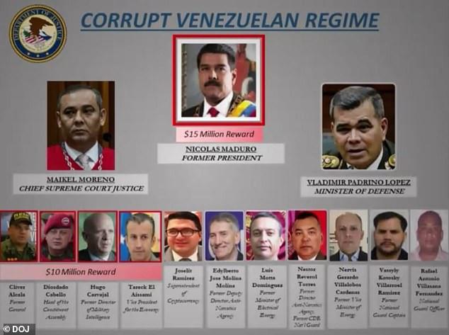 US offers $15m reward for information leading to arrest of Venezuelas President, Nicols Maduro lindaikejisblog  1
