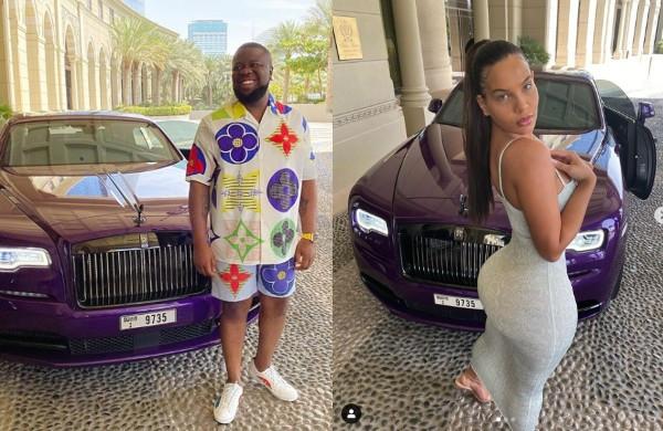 Hushpuppi and Instagram model, Amirah spark dating rumour lindaikejisblog