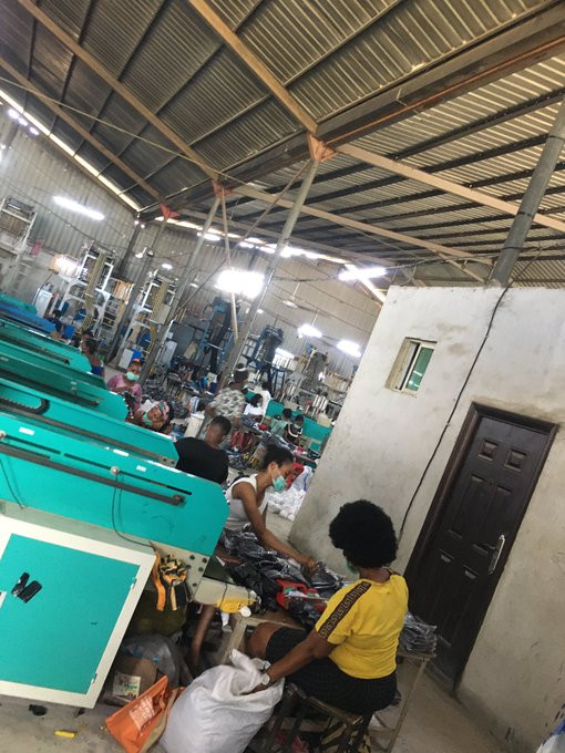 Chinese Company closed in Ogun State after its owner refused to comply with ban on large gathering lindaikejisblog