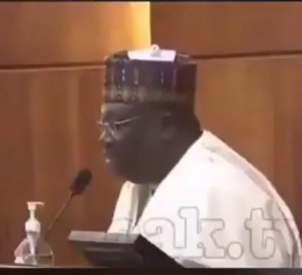 "Nigerians react as Senate President of Nigeria, Ahmed Lawan refers to ""COVID-19"" as ""COD 19"", All9ja"