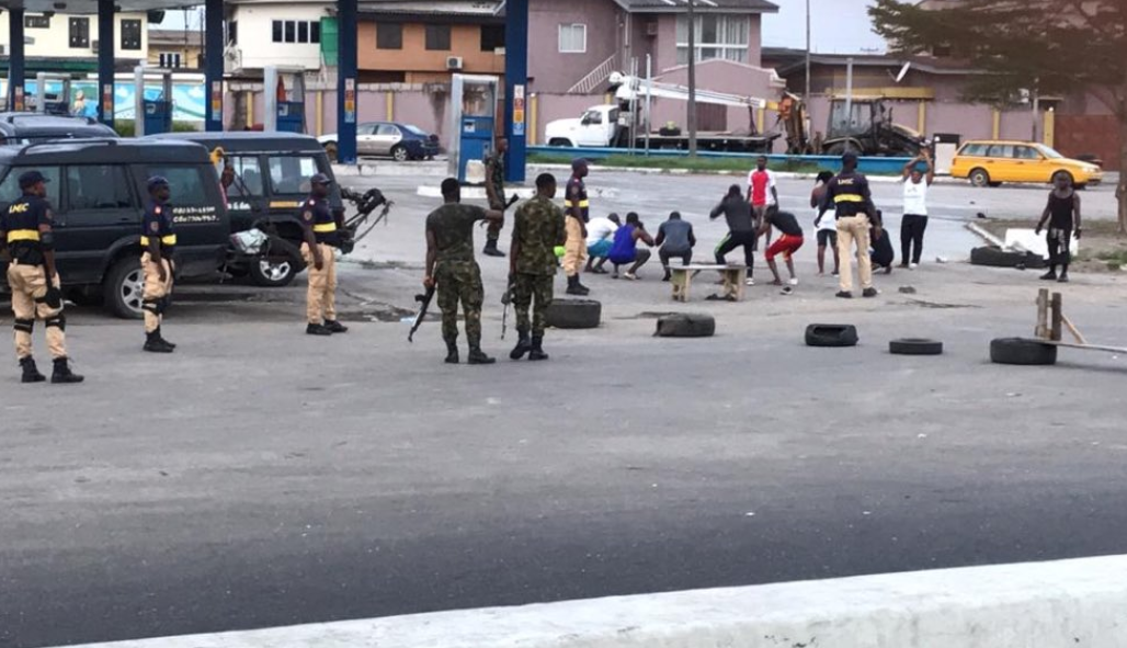 Lagos residents arrested for jogging despite lockdown order have been sentenced to 14 days quarantine, 30 days community service, All9ja