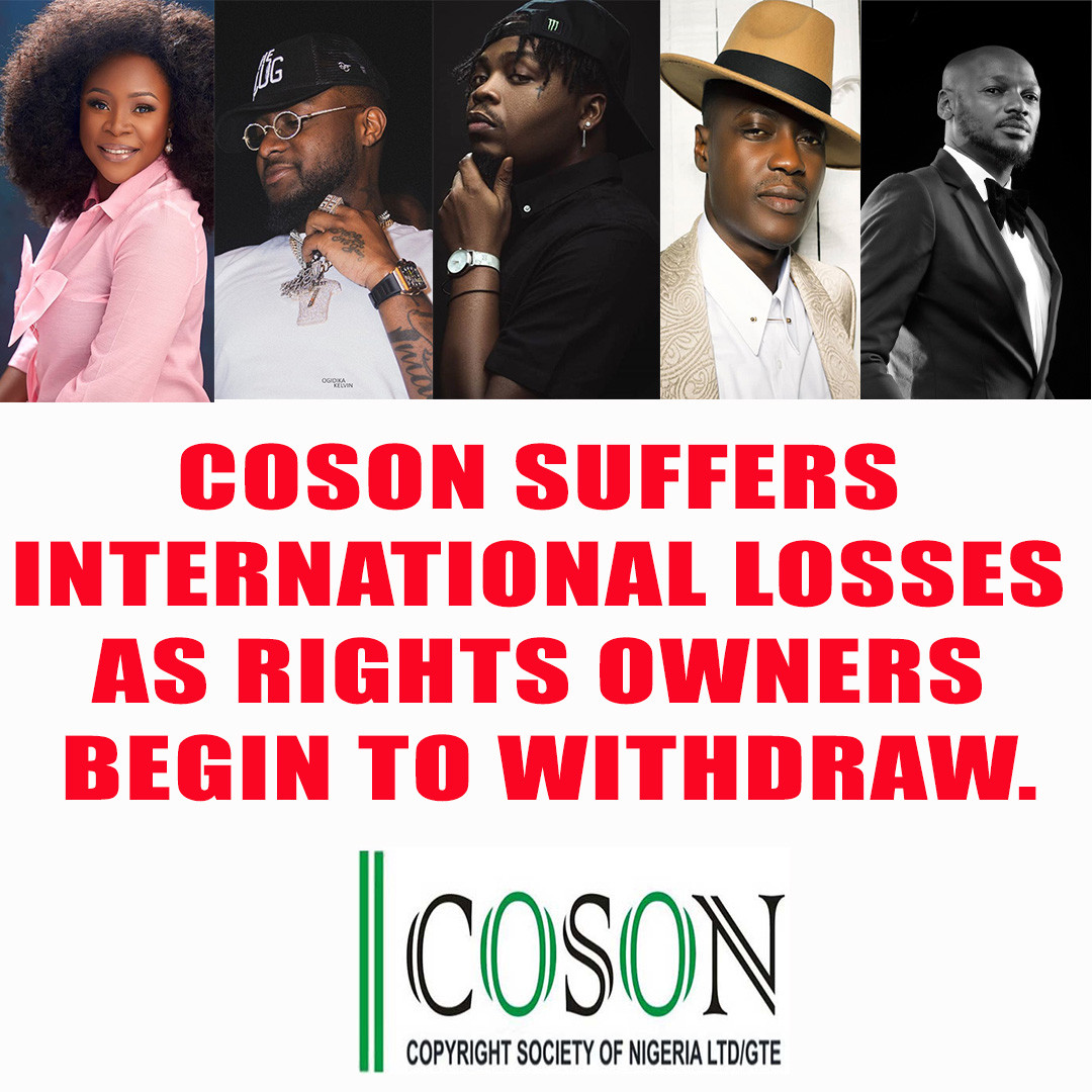 COSON Suffers International Losses As Rights Owners Begin To Withdraw