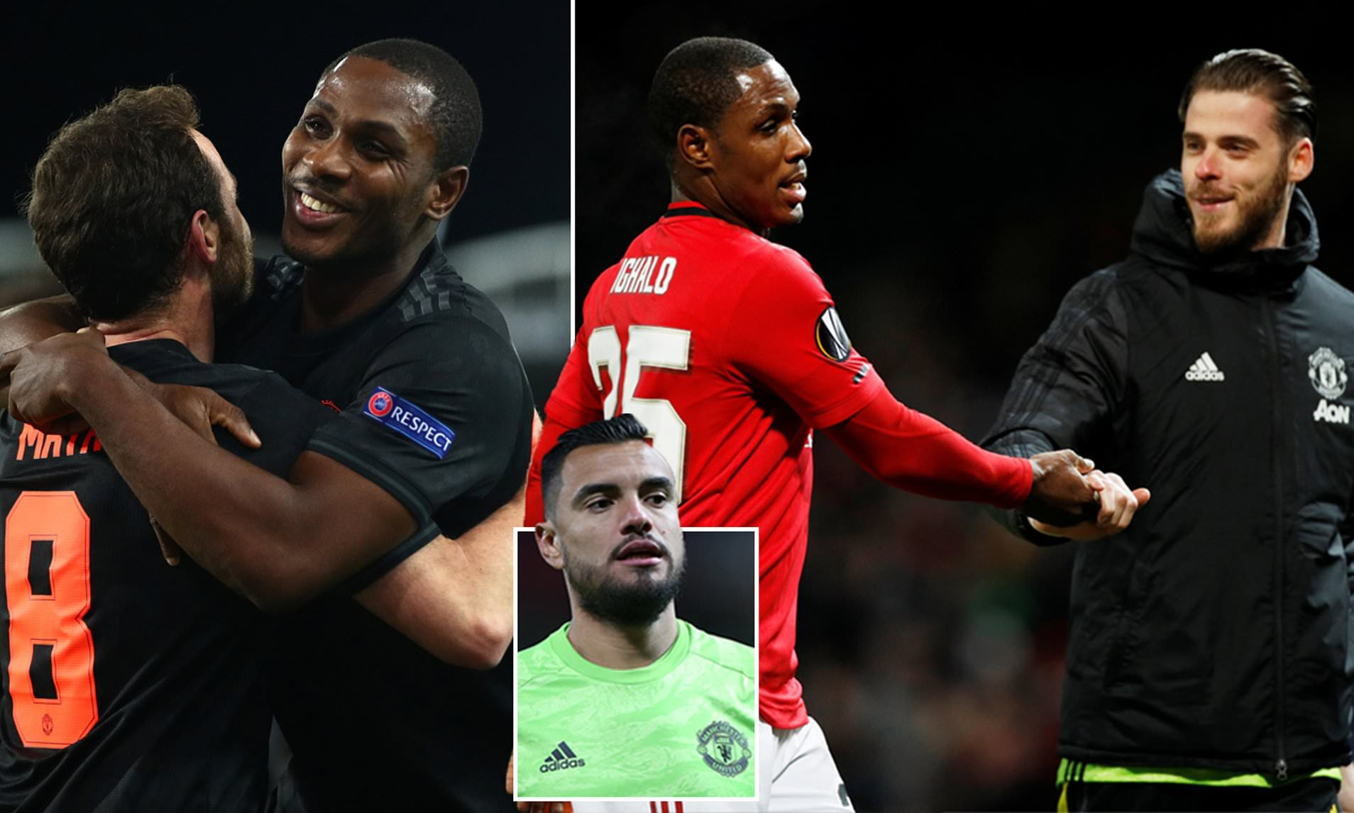 Odion Ighalo praises teammates David de Gea, Sergio Romero and Juan Mata for helping him settle in at Manchester United