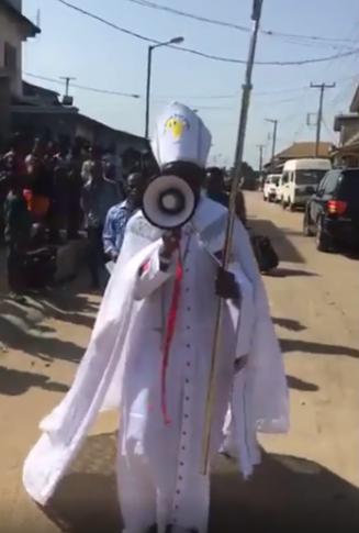 Archbishop Samson Mustapha Benjamin protests against 5G lindaikejisblog