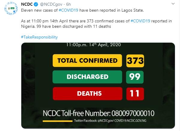 11 new cases of Coronavirus confirmed in Lagos lindaikejisblog 1