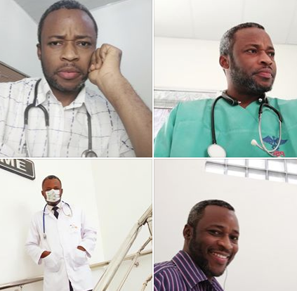COVID19: Nigerian doctor who tested negative after close contact with a Coronavirus patient who lied about his travel history, shares his story