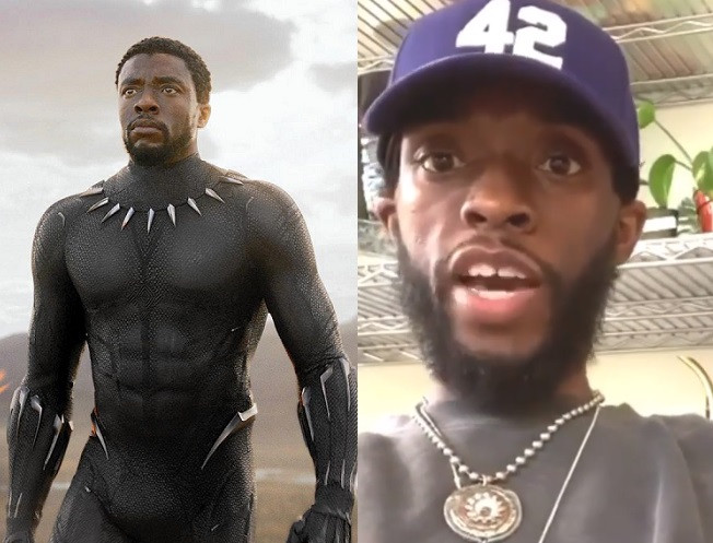Black Panther fans are worried about Chadwick Boseman's dramatic weight loss (Video)