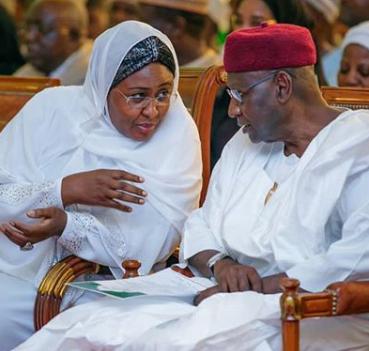 Aisha Buhari mourns late Abba Kyari, former chief of staff to President Buhari, All9ja
