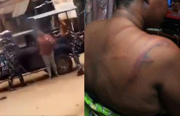 , Police officers who assaulted a woman standing outside a compound in Osun state arrested, victim narrates how incident occurred, All9ja, All9ja