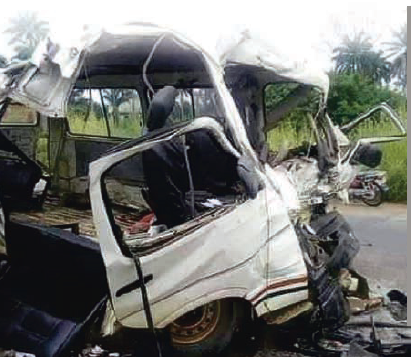 Two die and six are injured in Lagos-Ibadan Expressway accident, All9ja