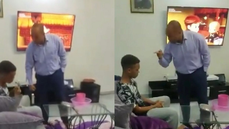 """Update: """"I have the right to discipline my son, if you think I was wrong, come and adopt him"""" – Father who slapped son who failed his exams after paying $21k school fees, tells critics, All9ja"""