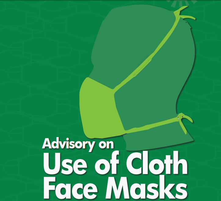It cant protect you completely NCDC issues advise on use of cloth face mask lindaikejisblog