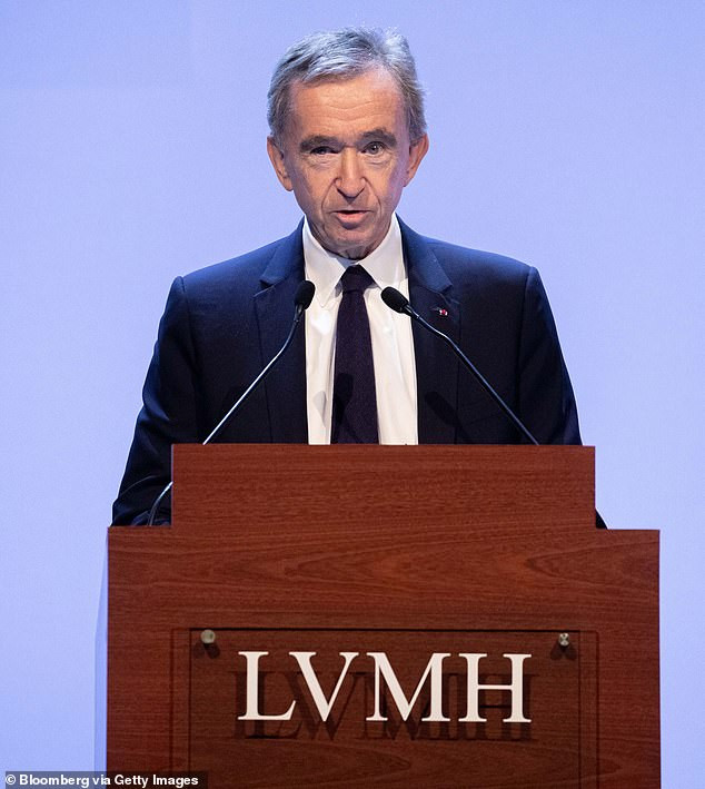 Europe's wealthiest man, Bernard Arnault has lost $30BILLION during Coronavirus crisis