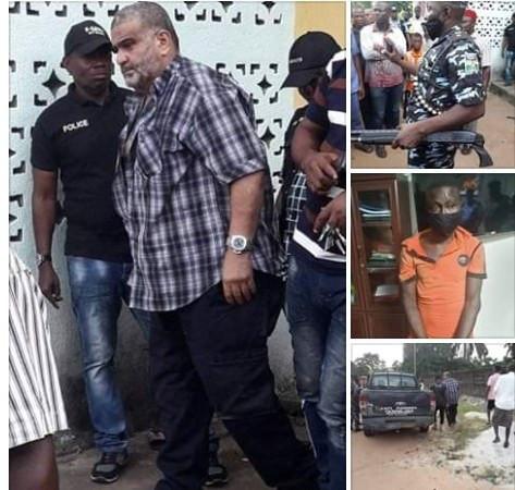 Police rescue Lebanese-born Nollywood actor Bilal Nosser 'Mr B' in Rivers state lindaikejisblog 2