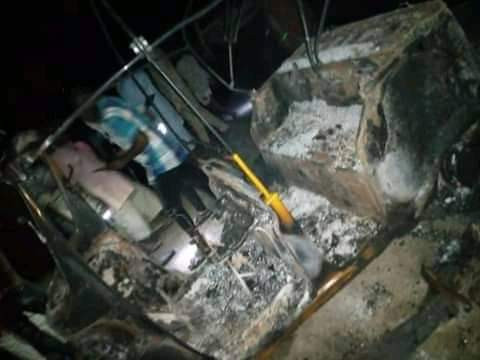 Angry mob kills three members of notorious gang in Adamawa after they snatched a resident's phone (graphic photos)