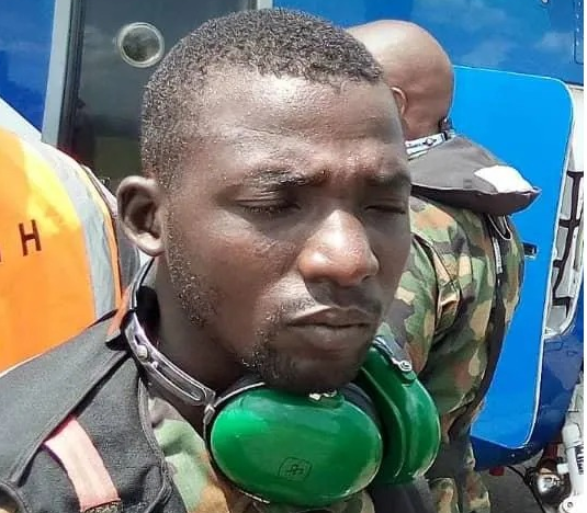 Photos of naval officer who fled isolation center in Delta state after not being allowed to smoke weed lindaikejisblog 2