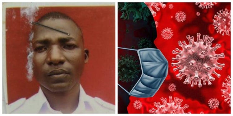 Photos of naval officer who fled isolation center in Delta state after not being allowed to smoke weed lindaikejisblog