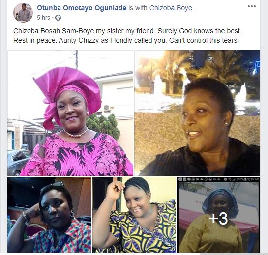 Tinsel and Living in Bondage star, Chisoba Bosah is dead lindaikejisblog 1