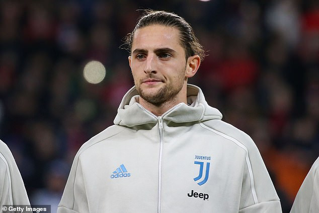 Juventus midfielder, Adrien Rabiot reportedly goes on strike in protest against his club cutting 7m of his 28m salary amid the COVID-19 crisis
