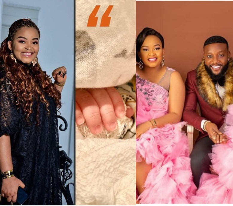 Singer Kcee and his wife Ijeoma welcome newborn baby on her birthday, All9ja