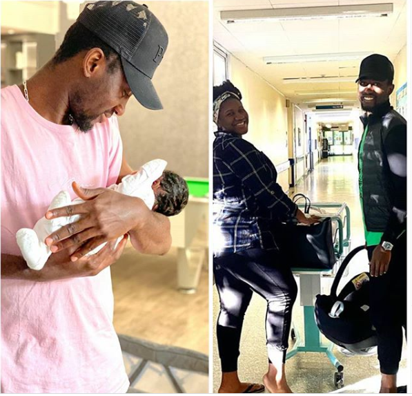 Super Eagles midfielder, Wilfred Ndidi and wife Dinma welcome their first child together, a girl