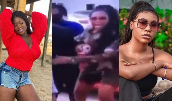 , Ghanaian female singers, Sista Afia and Freda Rhymz nearly fight each other at TV station premises (video), All9ja, All9ja