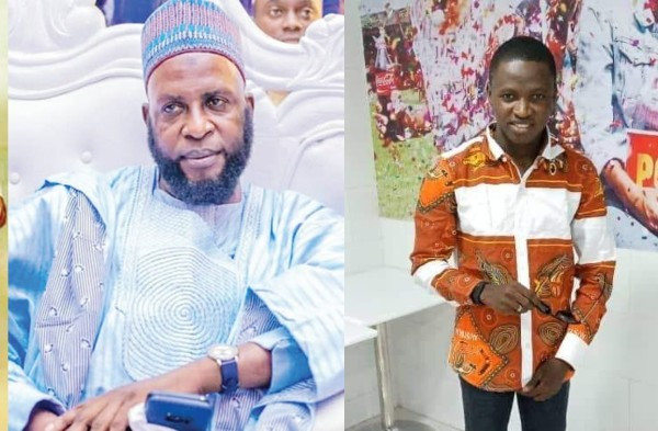 Popular Oyo Islamic cleric, Taofeeq Akeubagold shares photos of his worker who masterminded the kidnap of his twins lindaikejisblog