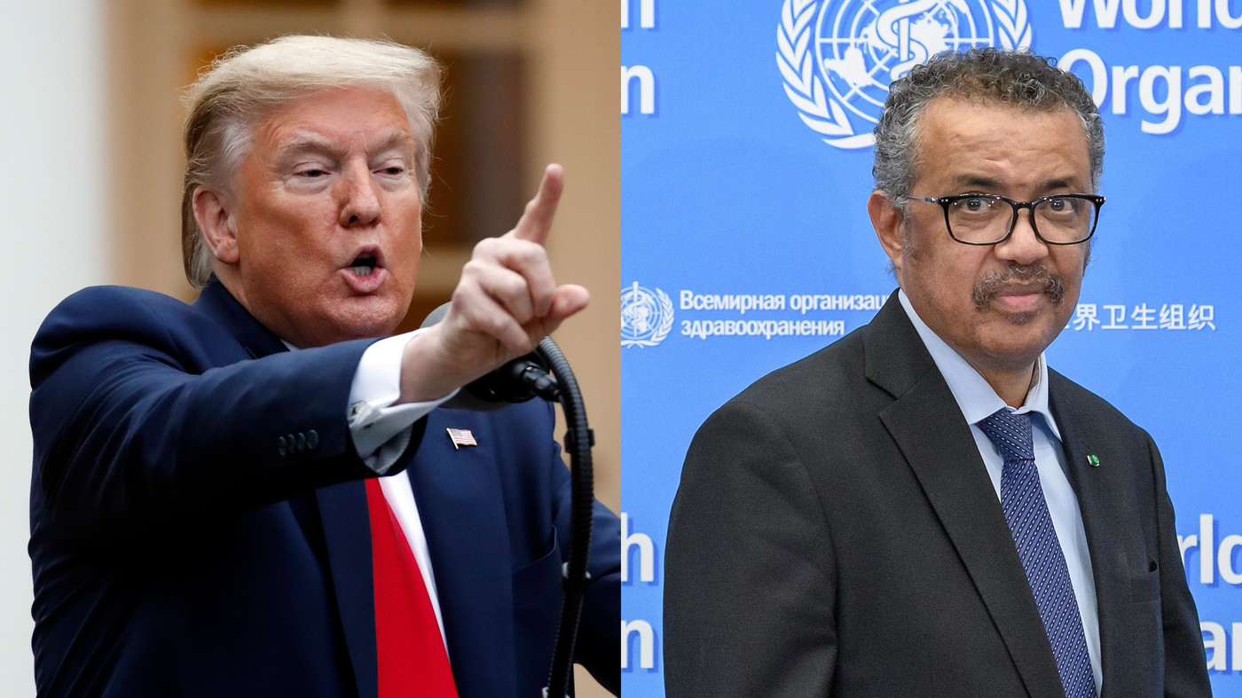Trump threatens to permanently pull funding from WHO and 'reconsider' US membership lindaikejisblog