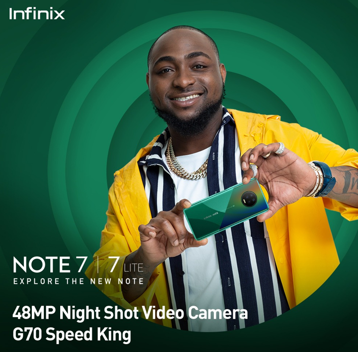 INFINIX NOTE 7 takes videography to a superior level