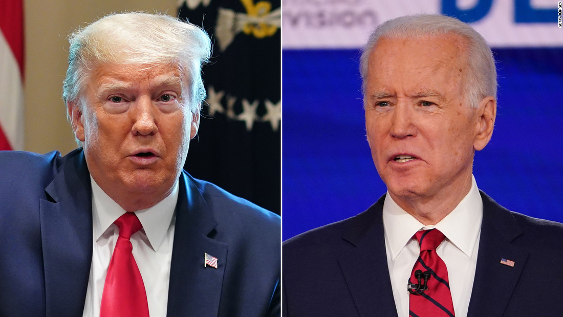 Joe Biden calls Trump's son sick for suggesting he's a pedophile and saysTrump is petty for not wanting to hang Obama's portrait