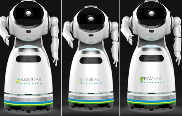 Rwanda takes delivery of robots that can screen 150 people per minute for Coronavirus lindaikejisblog 1