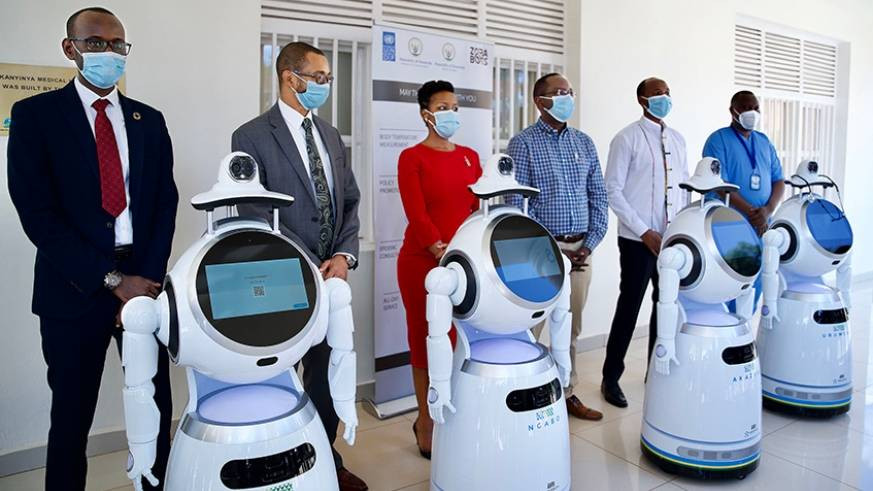 Rwanda takes delivery of robots that can screen 150 people per minute for Coronavirus lindaikejisblog 2