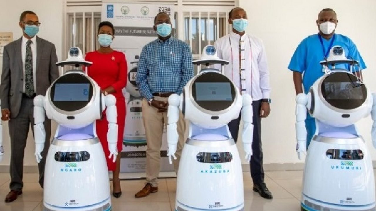Rwanda takes delivery of robots that can screen 150 people per minute for Coronavirus lindaikejisblog