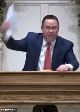 """""""Pharaoh doesn't get to dictate to God's people how they worship their God"""" Baltimore pastor says as he rips up letter banning gatherings of more than 10 people (video), All9ja"""