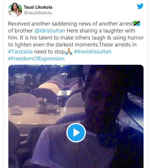 Big Brother Africa winner, Idris Sultan arrested for laughing at throwback photo of President Magufuli lindaikejisblog 3