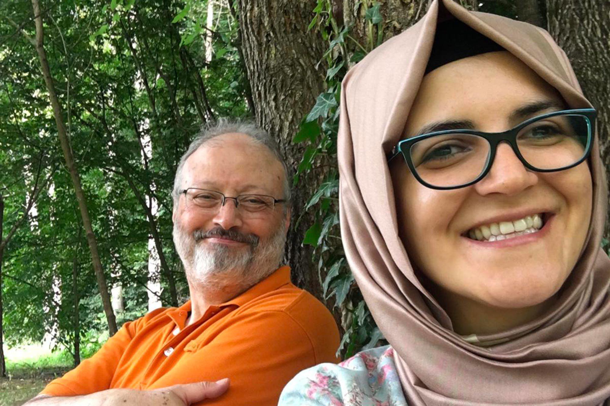 No one has the right to pardon his killers - Jamal Khashoggi's fiance rejects his son's announcement of forgiving his killers lindaikejisblog