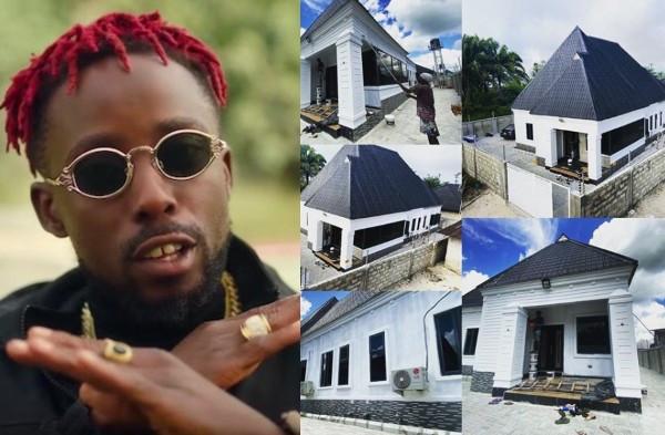 Rapper Erigga shows off his new house lindaikejisblog