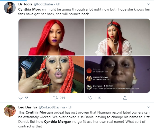 I had dirts on Jude Okoye, but I didn't fight him because I didn't think it was necessary - Cynthia Morgan talks about losing everything to the music executive lindaikejisblog 2