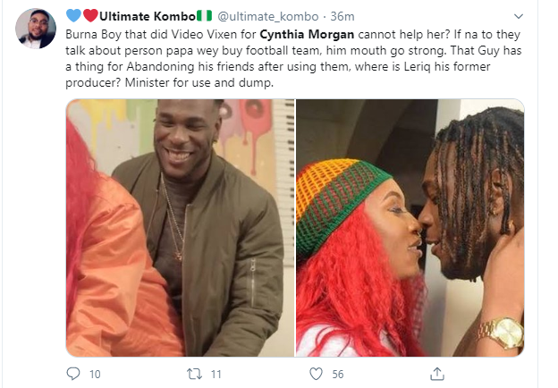 I had dirts on Jude Okoye, but I didn't fight him because I didn't think it was necessary - Cynthia Morgan talks about losing everything to the music executive lindaikejisblog 3