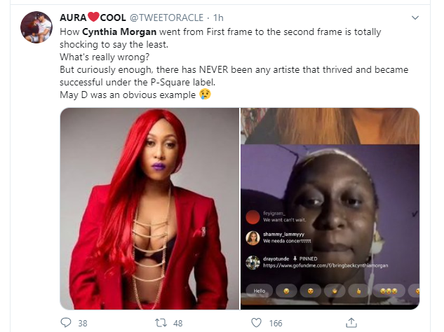 I had dirts on Jude Okoye, but I didn't fight him because I didn't think it was necessary - Cynthia Morgan talks about losing everything to the music executive lindaikejisblog 4