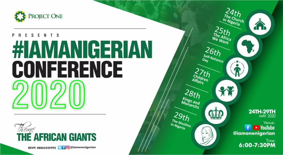The 1 Conference you shouldnt miss in 2020 is here The I am a Nigerian Conference