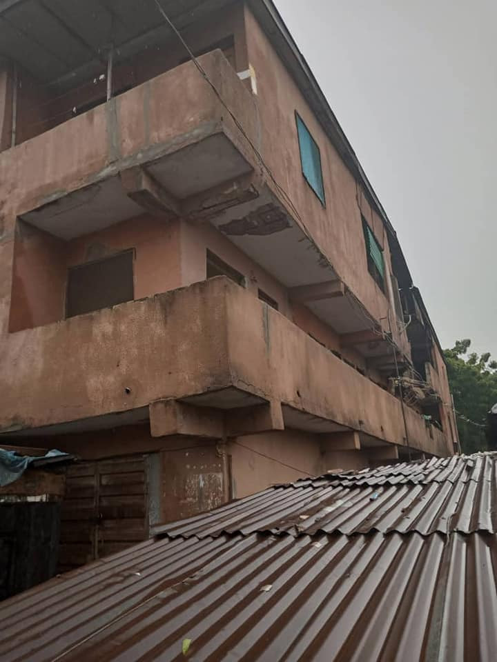 Three storey building partially collapses in Lagos (photos), All9ja