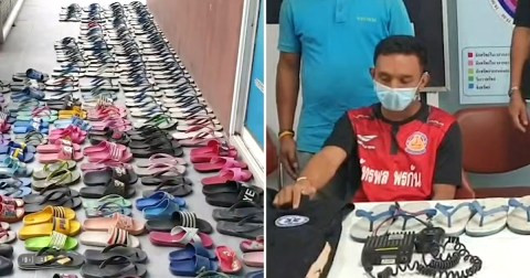 Man with shoe fetish stole 126 slippers from his neighbors so he could 'kiss, cuddle and have sex with them' (photos), All9ja