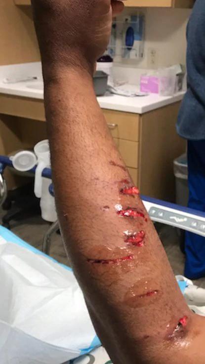 Police officer tells Black man to lick his own urine lindaikejisblog 1