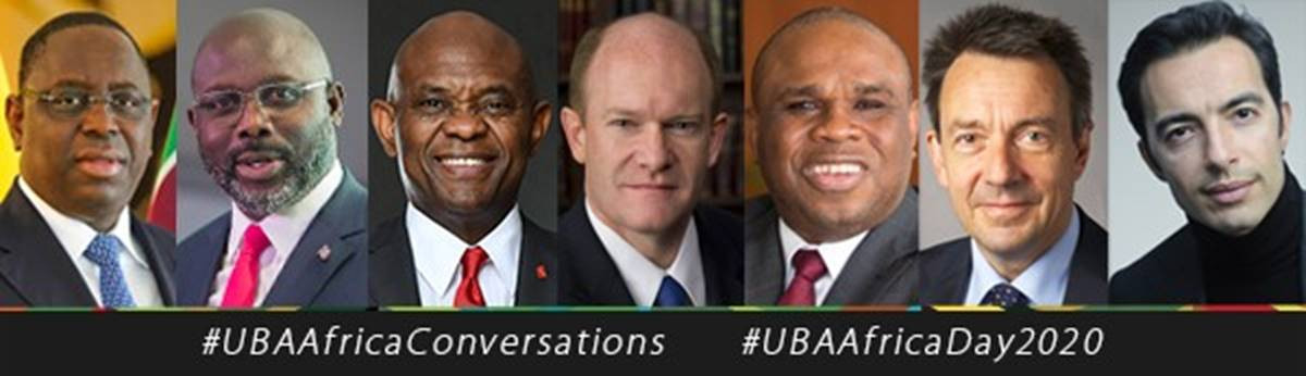 , President Weah, US Senator Coons, Elumelu, Other Global Leaders at the 2nd UBA Africa Day Conversations Urge Government, Private Sector Collaboration, All9ja, All9ja